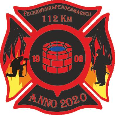 112 km Feuerwehrspendenmarsch Anno 2020